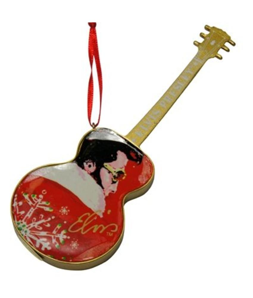 Ornament T5 - Santa Elvis Red