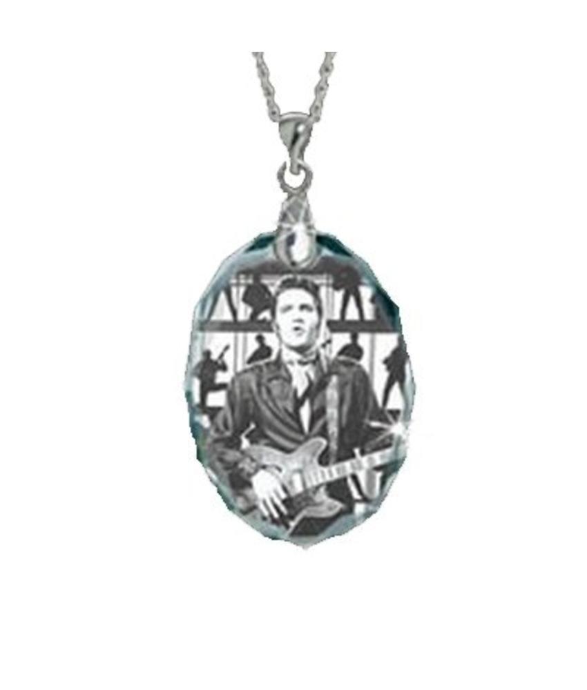 Halsketting - Crystal Guitar Man