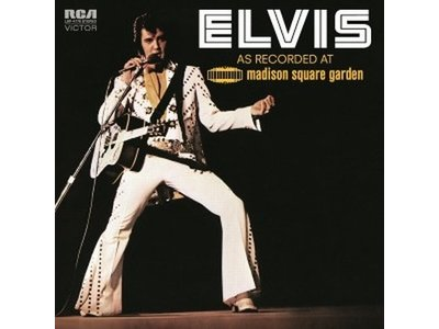Elvis As Recorded at Madison Square Garden 2 LP-Set 33 RPM Music On Vinyl RCA Label