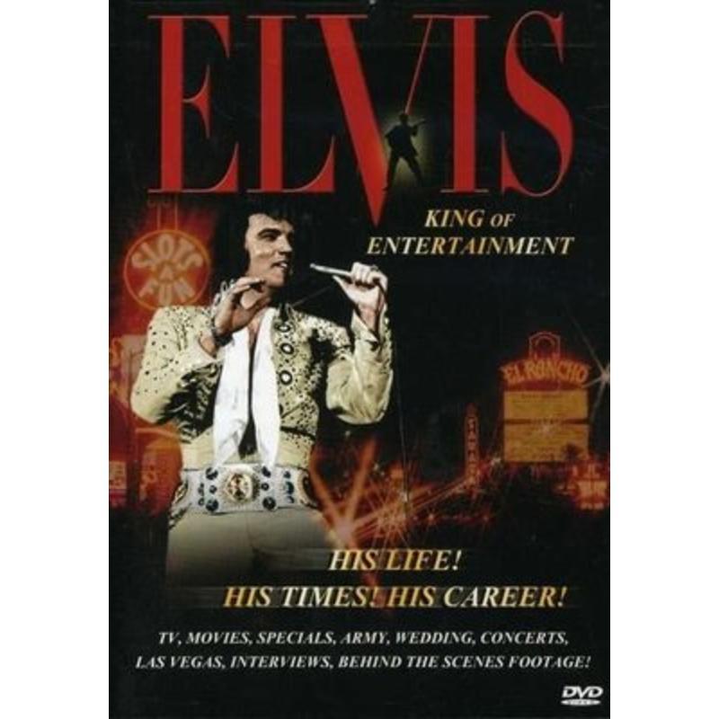 DVD - Elvis, King of Entertainment