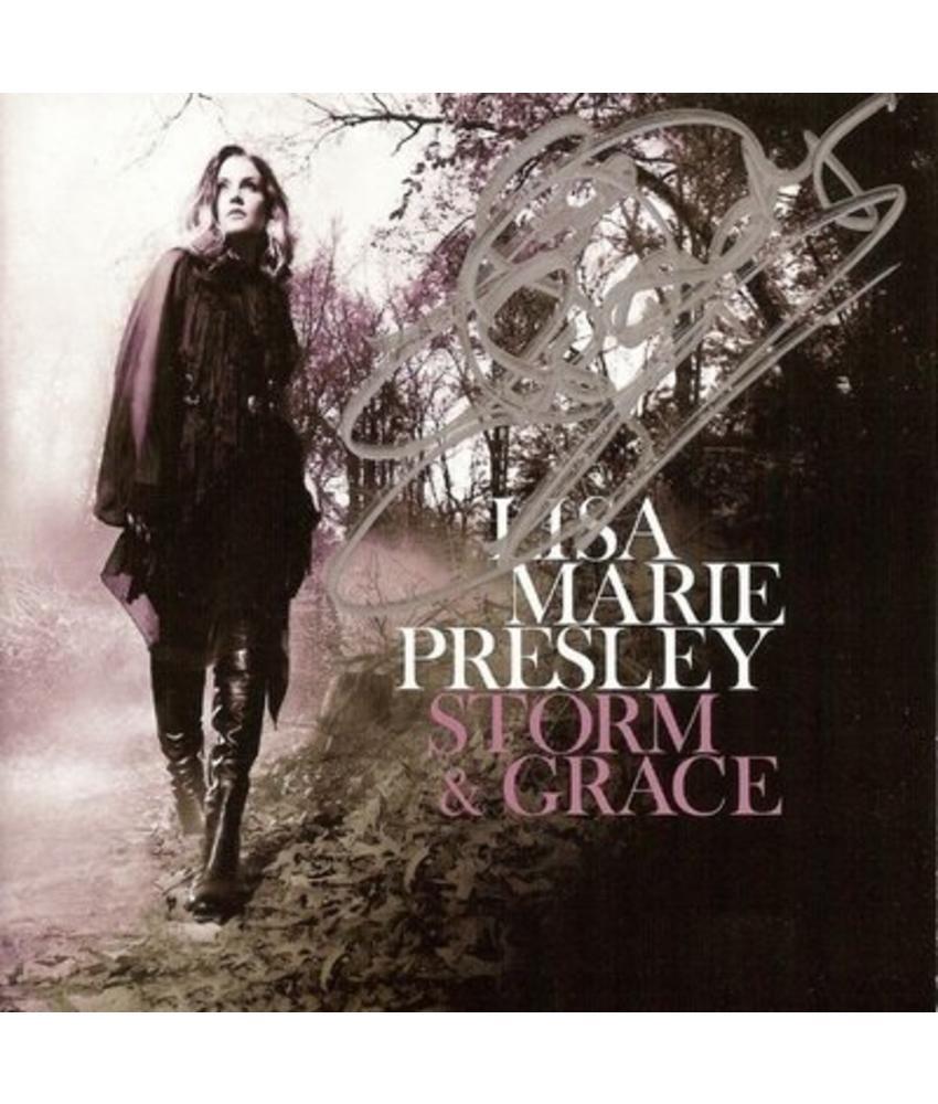 Lisa Marie Presley - Storm  & Grace (Signed)