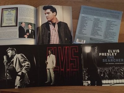 Elvis Presley , The Searcher - The original Soundtrack - 3 CD Deluxe Box Set