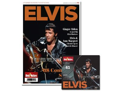 Magazine With CD - ELVIS 61