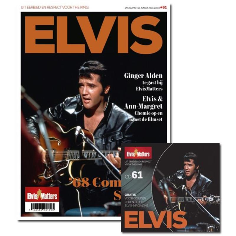 Magazine Met CD - ELVIS 61