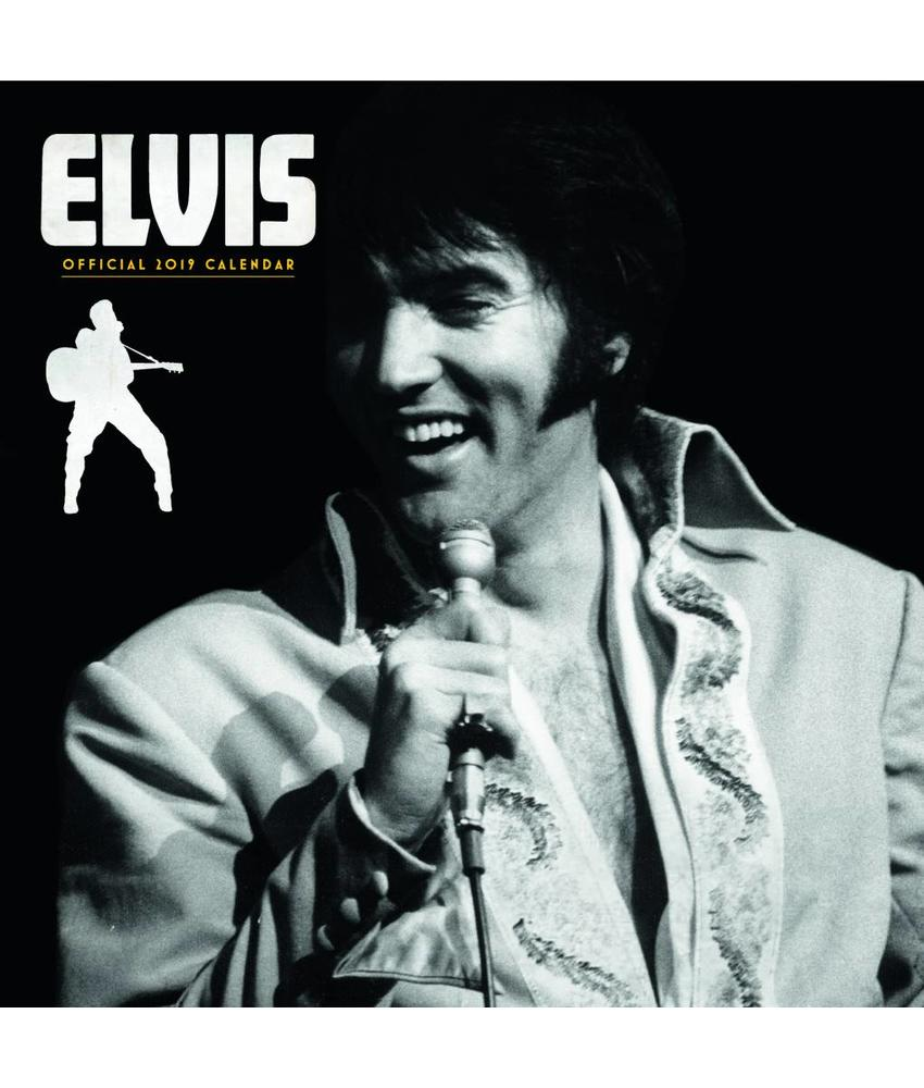 Kalender 2019 - Elvis Danilo Vierkant Elvis On Stage