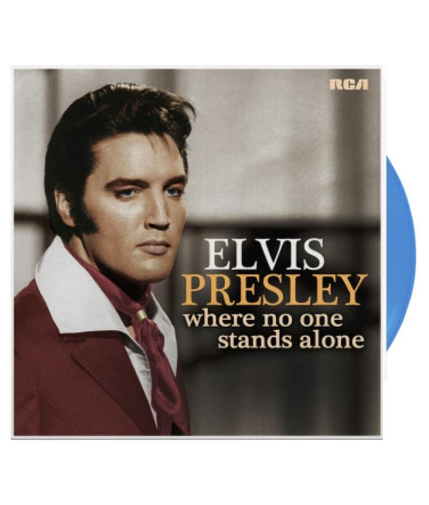 Elvis Presley - Where No One Stands Alone - Limited Edition Blue Vinyl LP