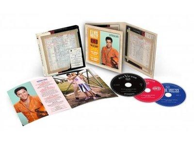 Elvis : The Viva Las Vegas Sessions - FTD - 3  CD Set