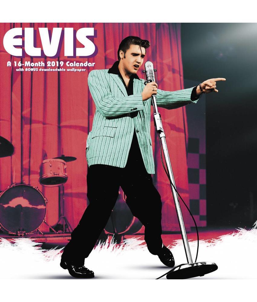 Calendar 2019 - Elvis 16 Months Calendar Ed Sullivan