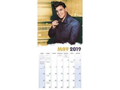 Kalender 2019 - Elvis 16 Maanden Kalender Ed Sullivan