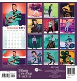 Calendar 2019 - Elvis 16 Months Calendar Sun
