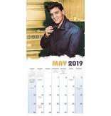 Calender 2019 - Elvis 16 Months Sun