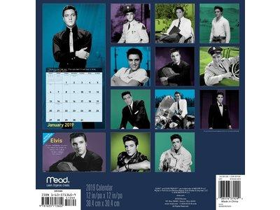 Calendar 2019 - Elvis Jailhouse Rock