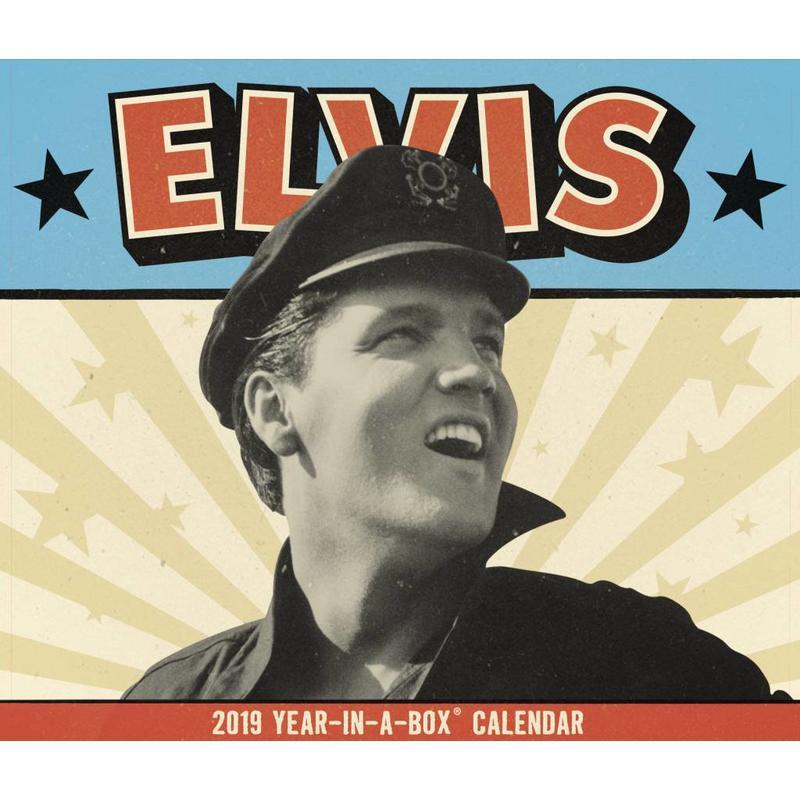 Kalender 2019 - Elvis Year In A Box Scheurkalender