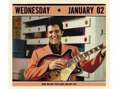 Kalender 2019 - Elvis Year In A Box Scheurkalender
