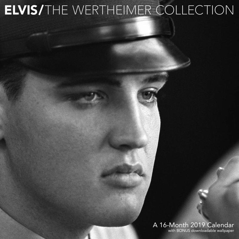 Calendar 2019 - Elvis 16 Months - The Wertheimer Collection