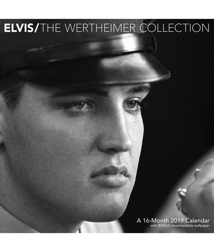 Kalender 2019 - Elvis  16 Months - The Wertheimer Collection