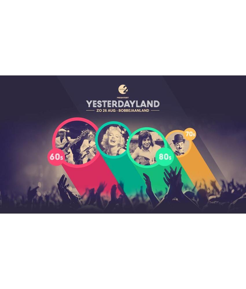 Yesterdayland - normaal ticket