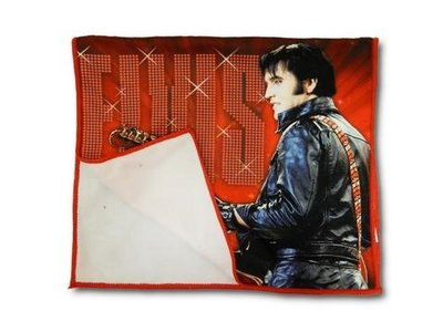 Keukenhanddoek Rood Elvis '68 Comeback Special