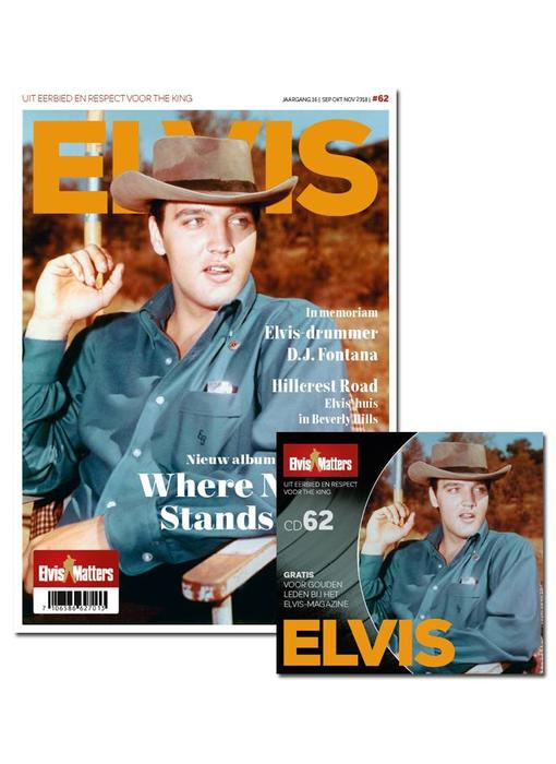 Magazine Met CD - ELVIS 62