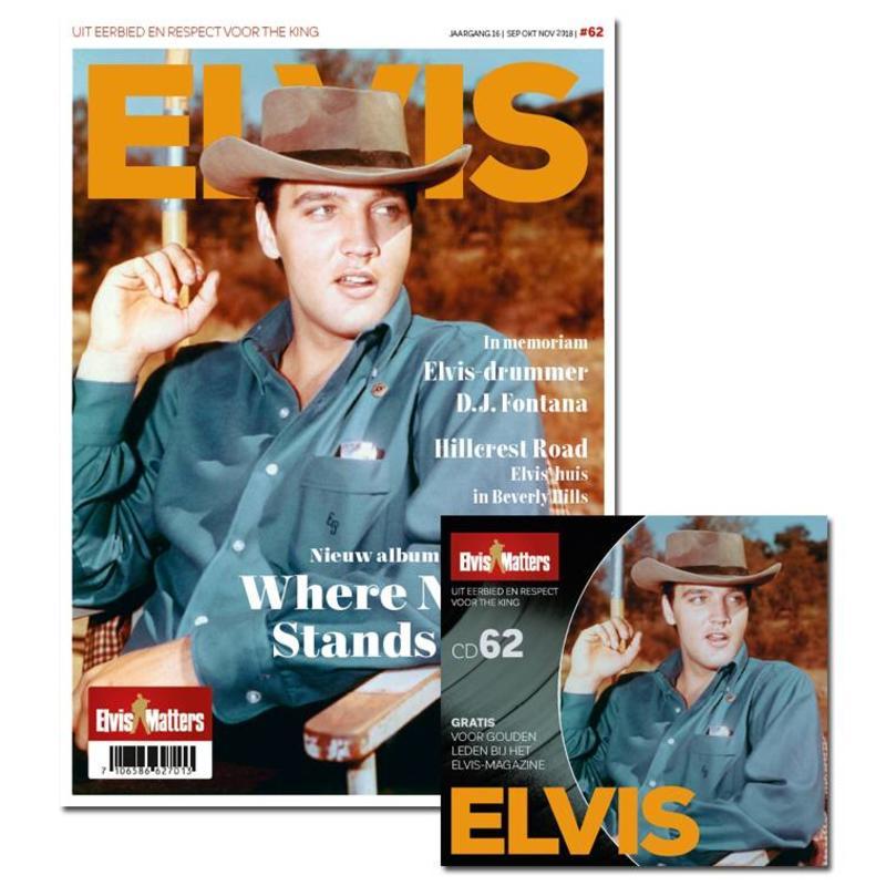 Magazine Met CD - ELVIS 62