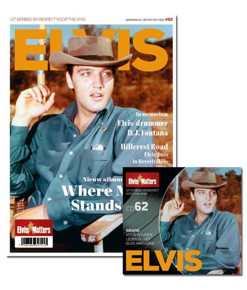 Magazine With CD - ELVIS 62