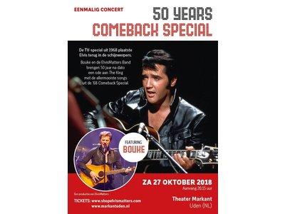 Comeback Staanplaatsen - 50 Years Elvis' Comeback Special