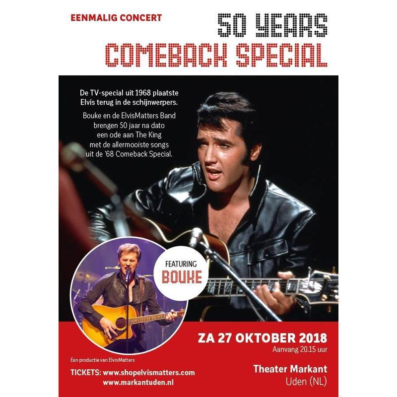 Comeback Zitplaatsen - 50 Years Elvis' Comeback Special
