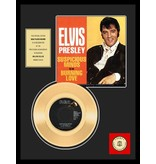 Gold Record 45 RPM  Elvis' Suspicious Minds - Burning Love