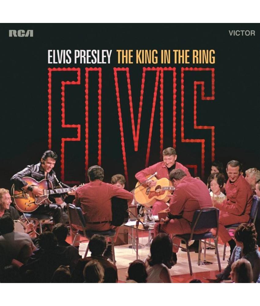Elvis Presley  The King In The Ring - Black Vinyl LP