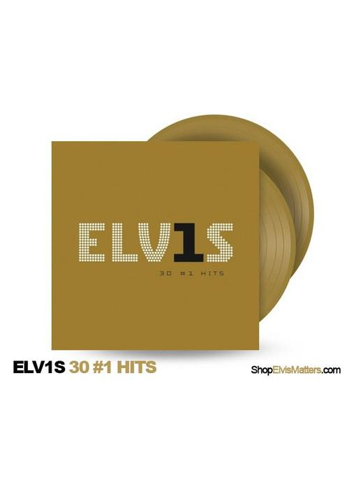 Elvis 30 # 1 Hits Gold Colored Vinyl 2 LP