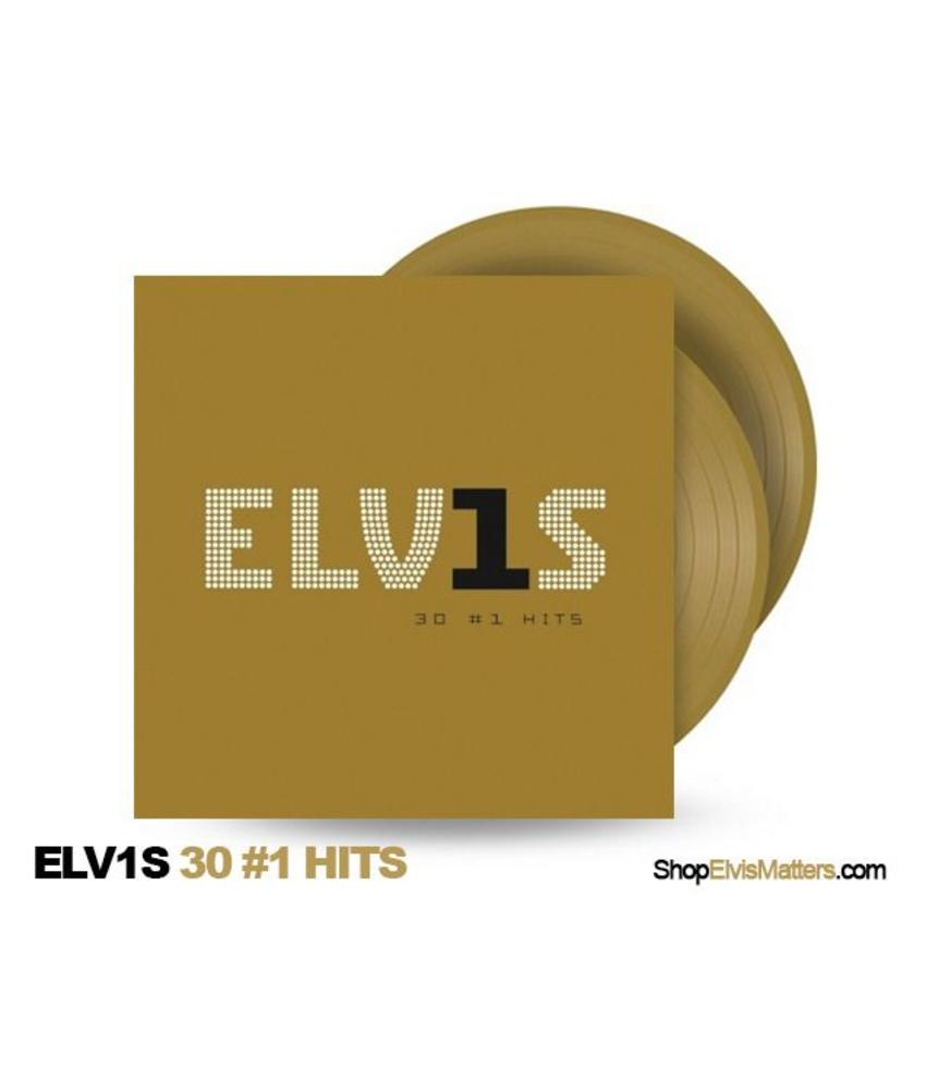 Elvis 30 # 1 Hits Gold Colored Vinyl 2 LP