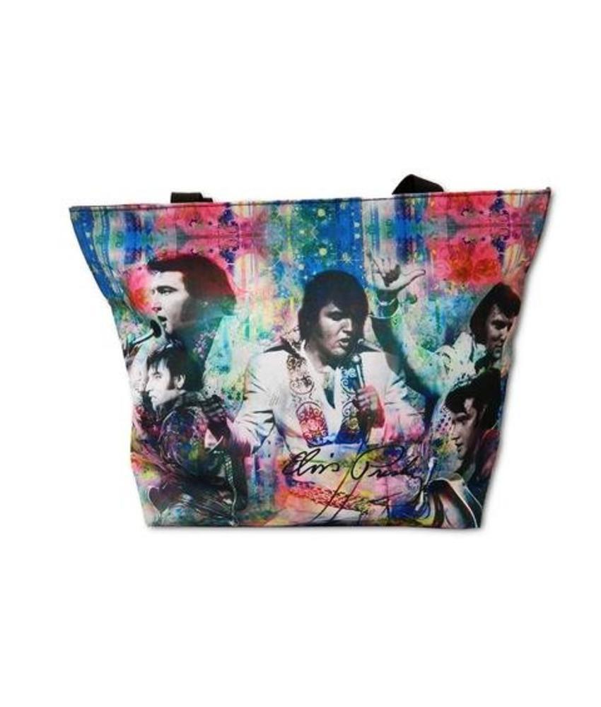 Bag - Elvis The Entertainer Collage - Large