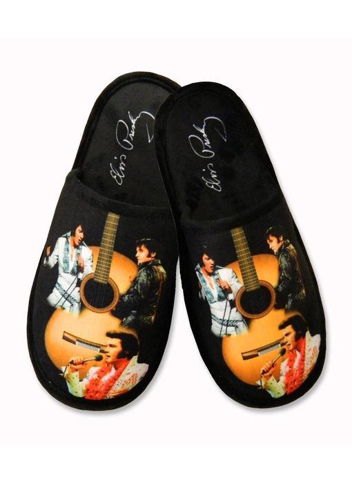 Slippers Elvis Guitar