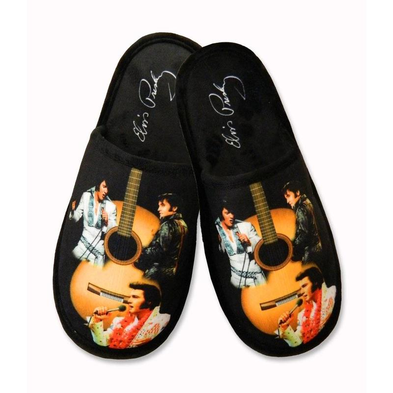 Slippers Elvis Guitar