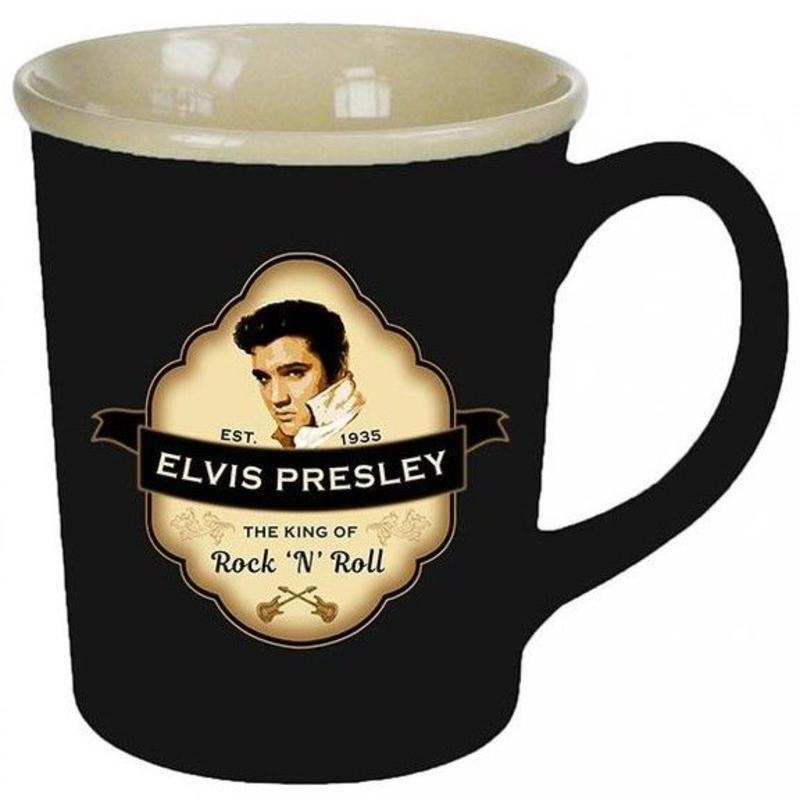 Mug Elvis Presley - Est.1935 - The King Of Rock 'n Roll