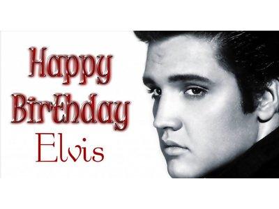 Elvis' BirthdayParty - Saterday  Januari 12,  2019