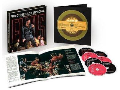 Elvis Presley '68 Comeback Special 50th Anniversary Boxset - 5 CD / 2 Blu Ray