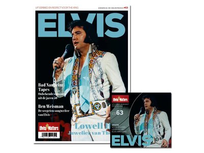 Magazine Met CD - ELVIS 63