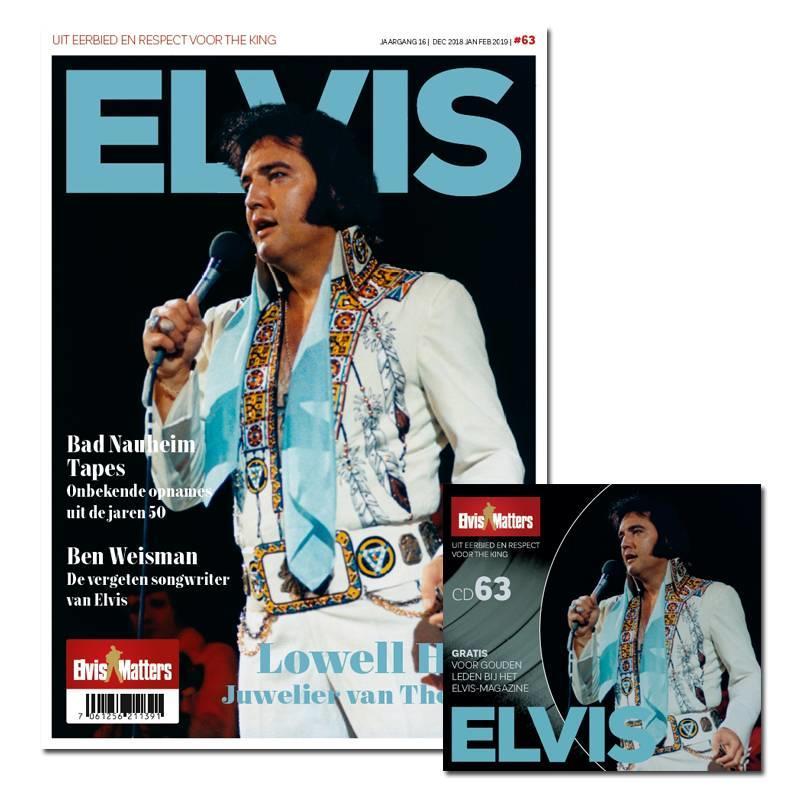 Magazine Met CD - ELVIS 63