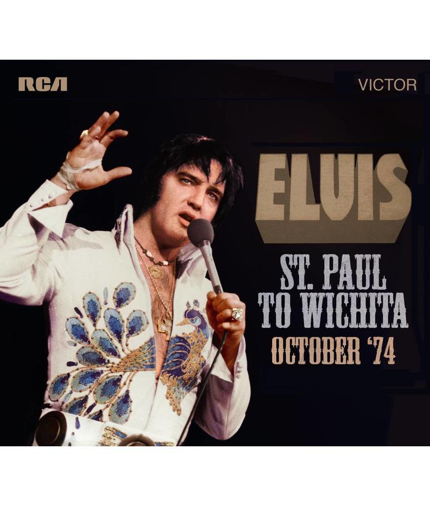 FTD - Elvis : St. Paul Naar Wichita - Oktober '74