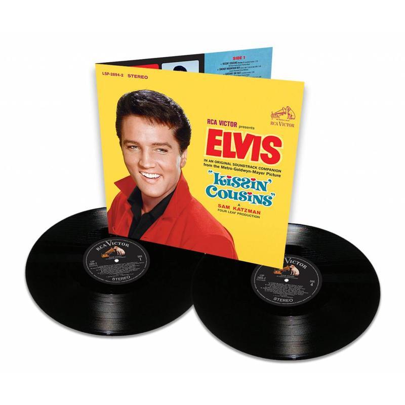 FTD Vinyl - Elvis: Kissin 'Cousins