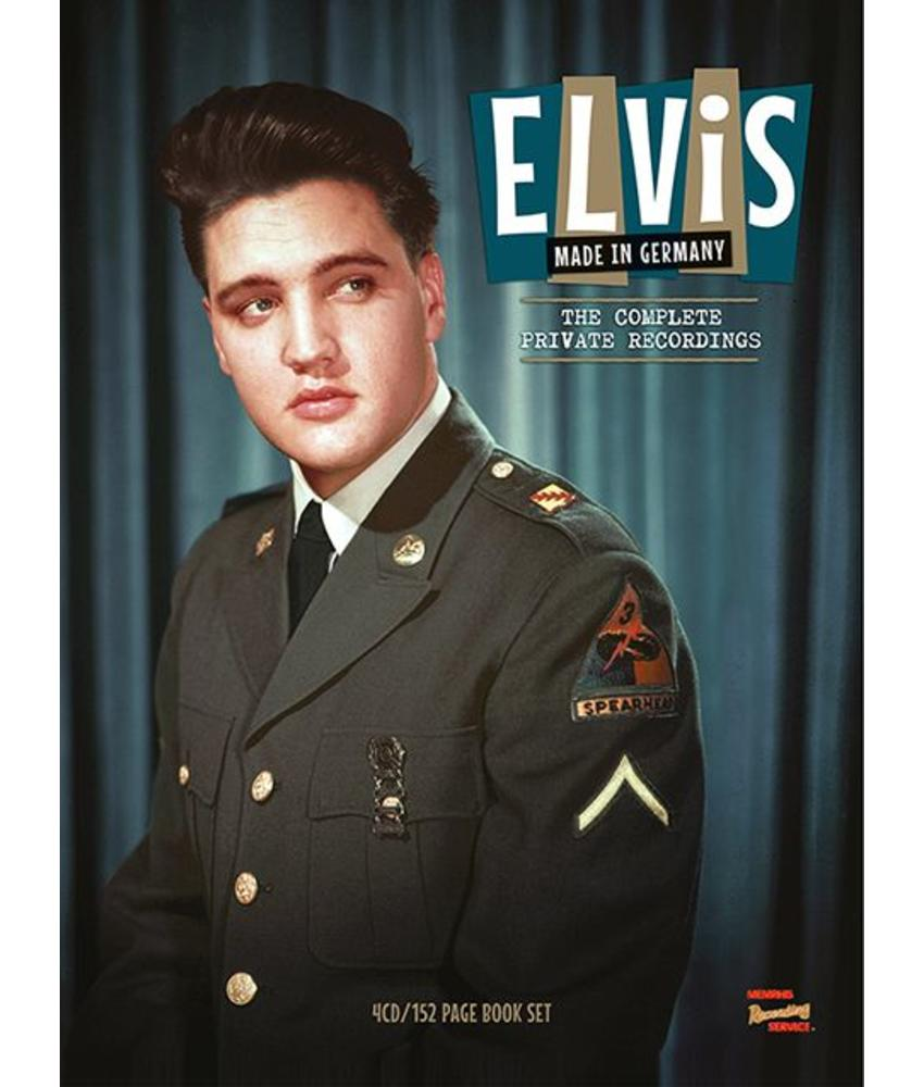 MRS - Elvis Made In Germany - The Complete Private Recordings - 4 CD -152 PageBook Set