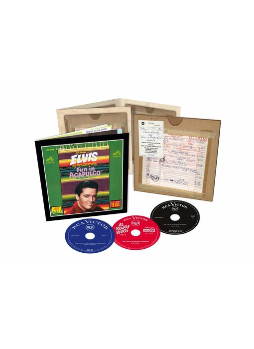 Elvis : The Fun In Acapulco Sessions - FTD - 3  CD Set
