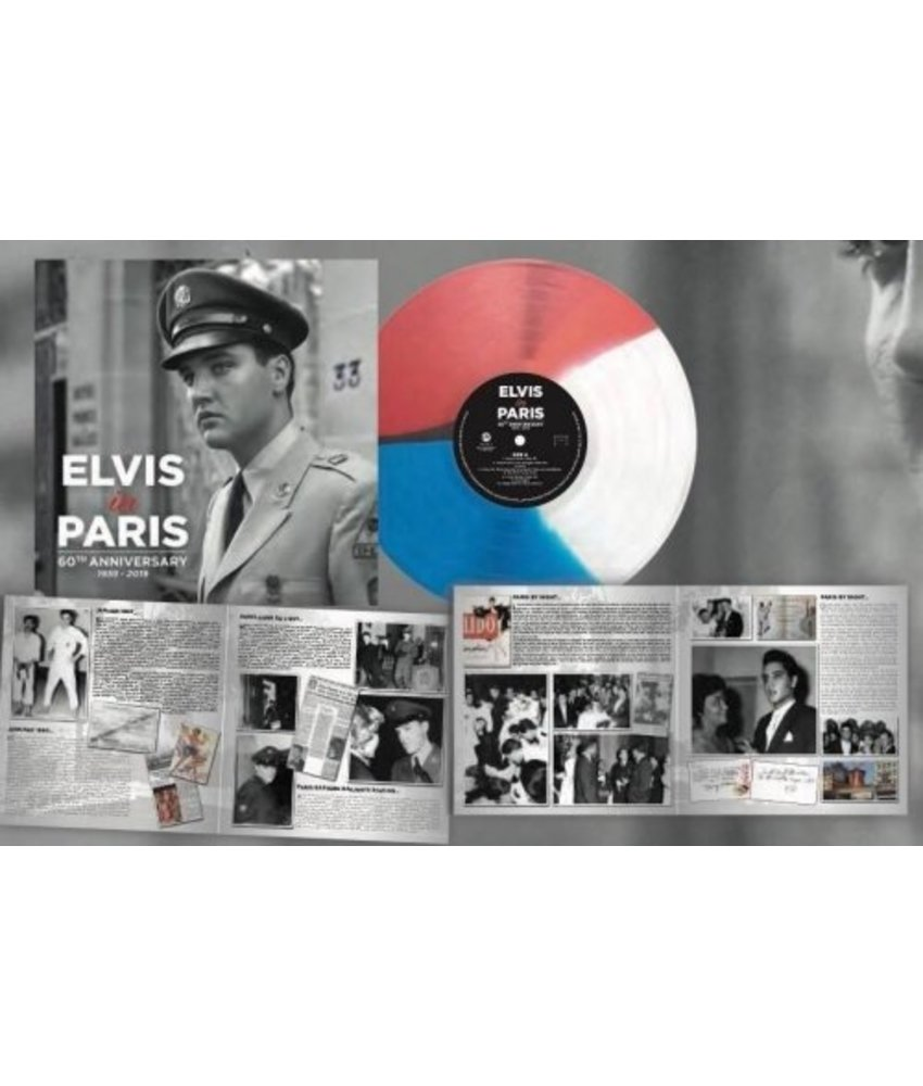 Elvis In Paris - Coloured  Vinyl - RSD 2019