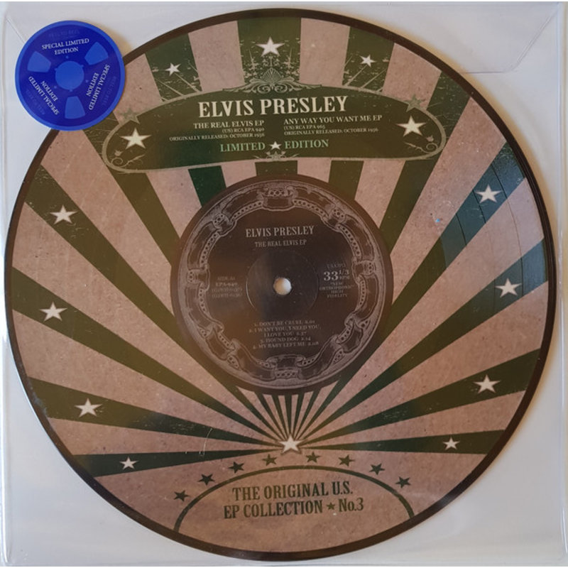 Elvis Presley - The Original U.S. EP Collection No. 3 - Vinyl Picture Disc