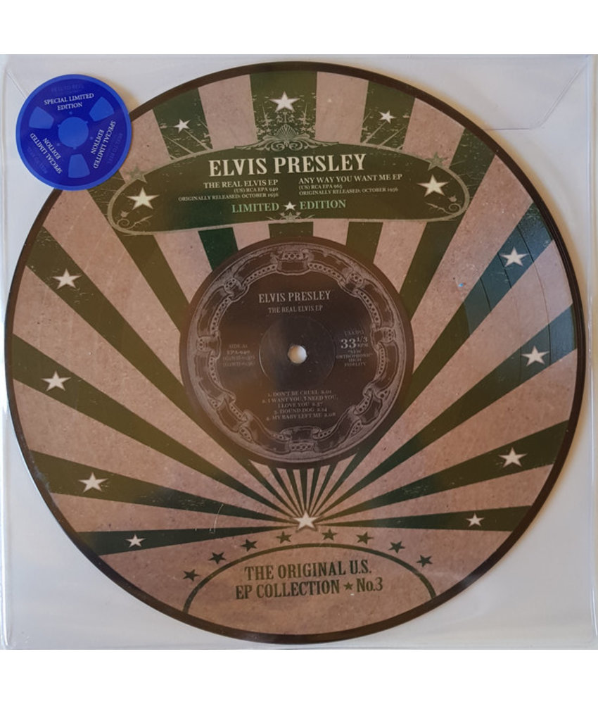 Elvis Presley - The Original U.S. EP Collection No. 3 - Vinyl Picture Disc