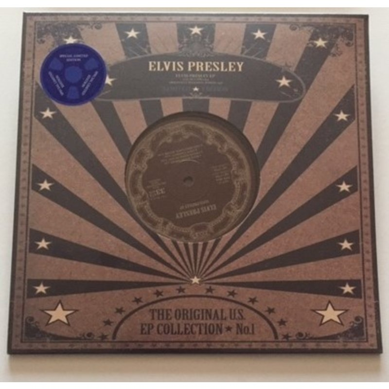 Elvis Presley - The Original US EP Collection 1 - Black Vinyl