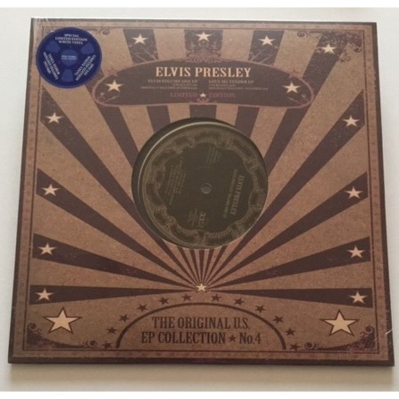 Elvis Presley - The Original U.S. EP Collection No. 4 - White Vinyl