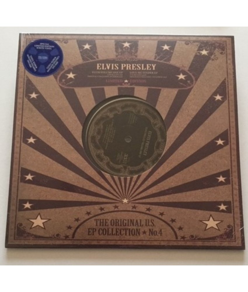 Elvis Presley - The Original US EP Collection 4 - White Vinyl