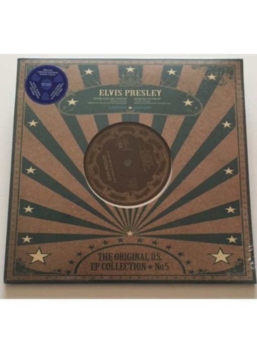 Elvis Presley - The Original US EP Collection 5 - White Vinyl